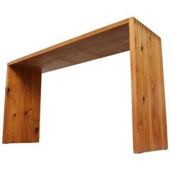 Ate Van Apeldoorn Pine Console Table