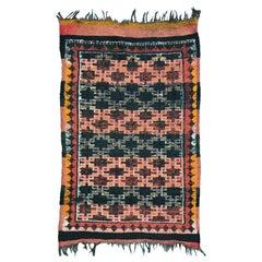 Vintage Tribal Moroccan Berbere Rug