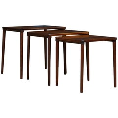 Coffee Table Rosewood Vintage, 1960-1970 Retro