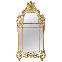 Régence Wall Mirror, First Half of the 18th Century