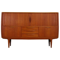J. Andersen Highboard Teak Danish Design