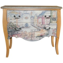 Chest of Drawers with Paris Photo