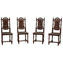 Four Brittany Chairs, circa 1880
