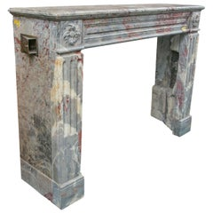 Antique Marble Mantel