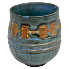 Royal Canyon Ceramic Vessel by Andrew Wilder, 2018