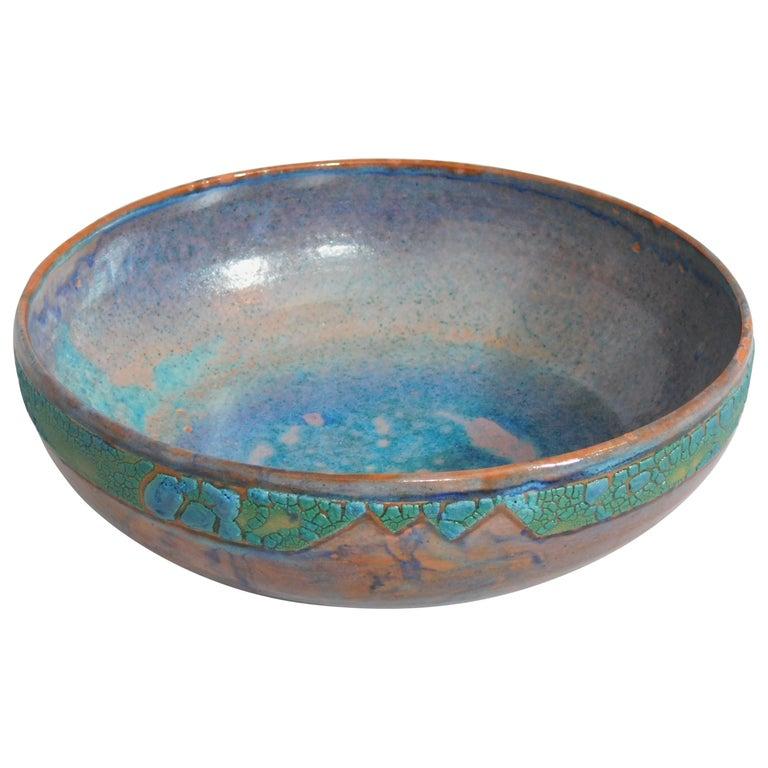 Sunset Plaza Ceramic Bowl by Andrew Wilder, 2018