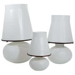 Three Table Lamps, Mid-20th Century