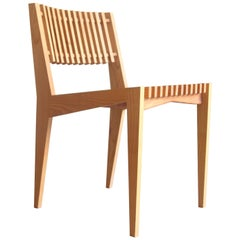 Contemporary Slat Chair by MRL Creative Made to Order