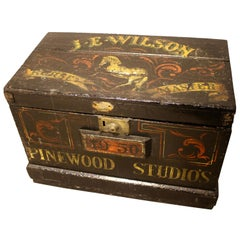 Painted Pine Horse Masters Trunk from Pinewood Film Studios