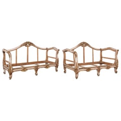Early 19th Century French Giltwood Sofas