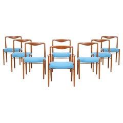 Kai Lyngfeldt Larsen Teak Dining Chairs for Søren Willadsen