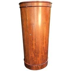 Hardwood Pedestal Cupboard by Johannes Sorth for Bornholm Mobler