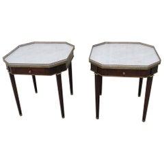 Pair of Maison Jansen Style Bouillotte Tables