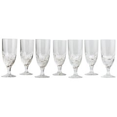 Crystal Wine Glasses, circa 1860