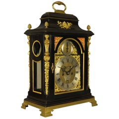 Verge Fusee Bracket Clock, William Smith, London