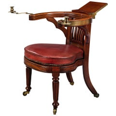Regency Cockfighting Chair