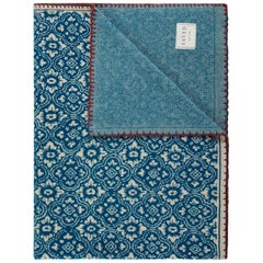 Renaissance N. 25 Bleu Throw by Saved, New York