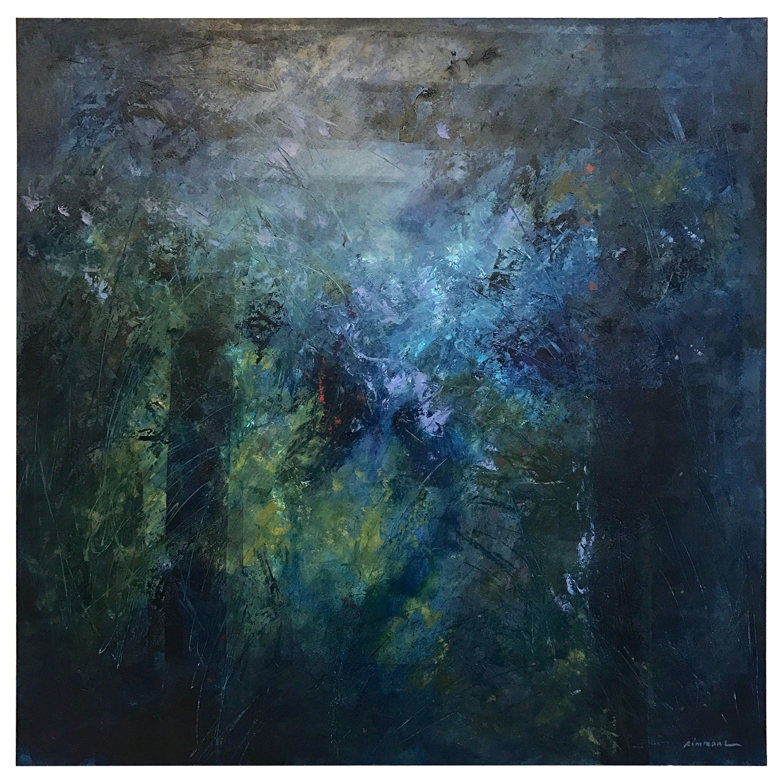 Blue Bayou Original Signed Oil on Cradled Panel