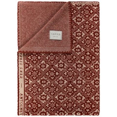 Renaissance N. 32 Rouge Throw by Saved, New York