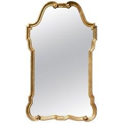 Glamorous Vintage Italian Giltwood Mirror