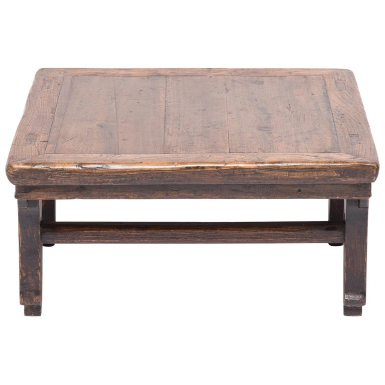 19th Century Chinese Provincial Low Table For Sale