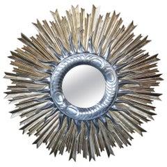 Sunburst Convex Mirror