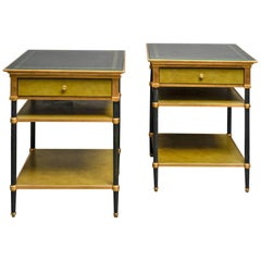 Fine Pair of Side Tables by Jansen