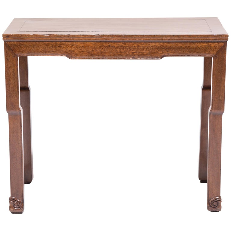 Chinese Rosewood Whiplash Table For Sale