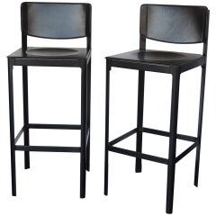 Pair of Two Matteo Grassi Bar Stools