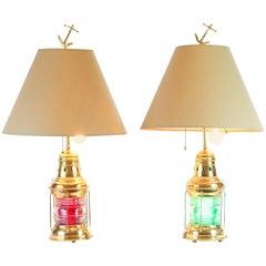 Ship Lantern Table Lamps