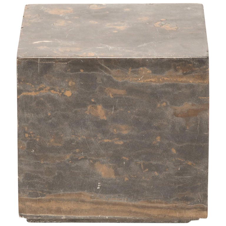 Small Chinese Marble Doon Table For Sale