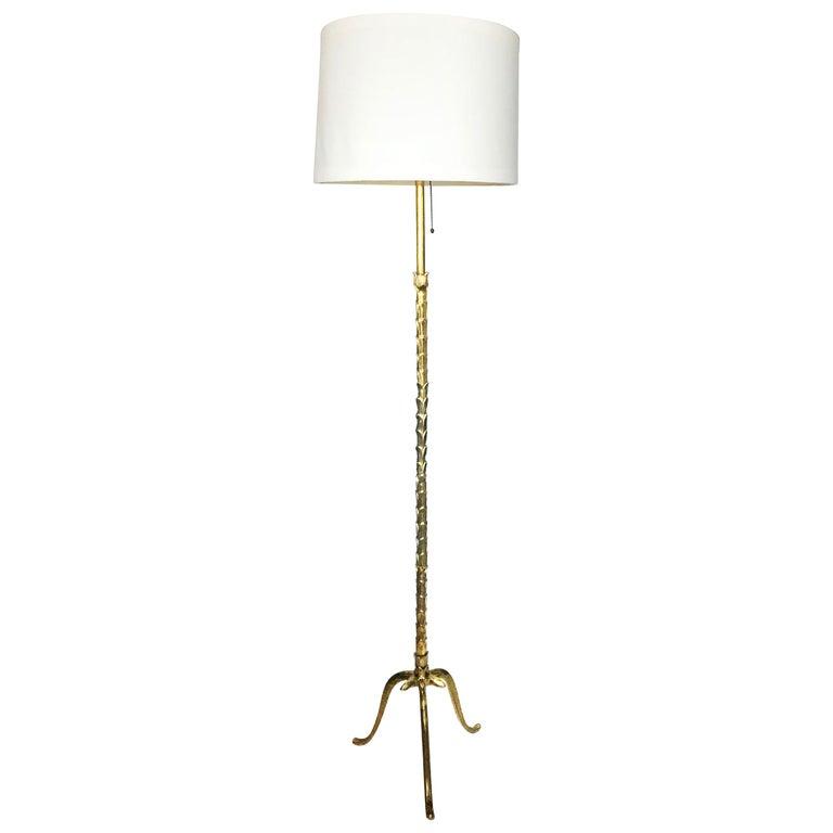 Maison Bagues Bronze Floor Lamp