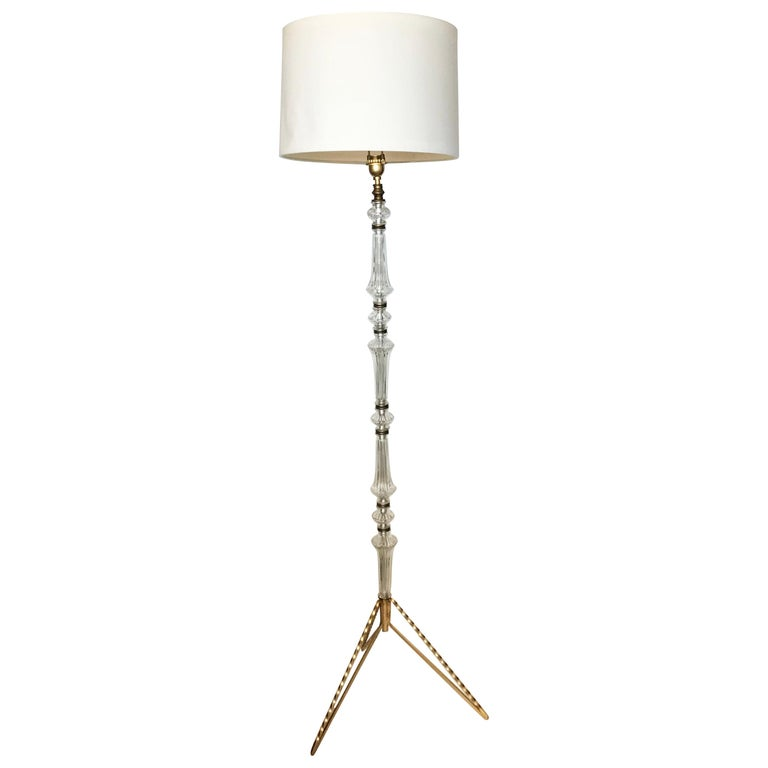 1940s French Floor Lamp