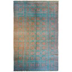 Amazing Reversible Early 20th Century Saveh Kilim Rug