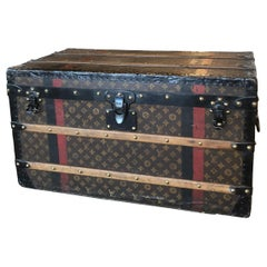Louis Vuitton Trunk with DMK Initials, circa 1920s