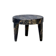Tip Tap Portoro Table in Marble by Mauro Mori Studio