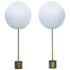 "Midcentury Floor lamps ""G123/600"" by Hans Agne Jakobsson, Sweden, 1960s"
