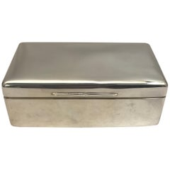 Sterling Silver Jewelry Box by Mappin & Webb