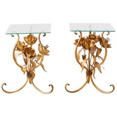 Pair of Hans Kögl Hollywood Regency Drinks Tables