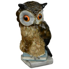 Owl Perfume Lamp by Goebel Western, Germany, 1960s