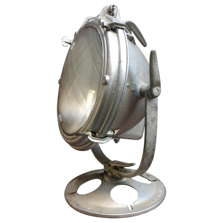 Nautical Industrial Crouse-Hinds Adjustable Spotlight