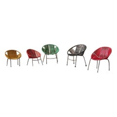 Children's Chairs Italian Design Iron Plastic Multi-Color RIMA
