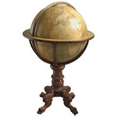 Terrestrial Globe by Johnston