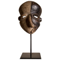 Pende 'Mbangu' Mask from a Private Collection, Early 20th Century