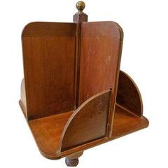 Elegant Rotative Bookcase, 19th Century