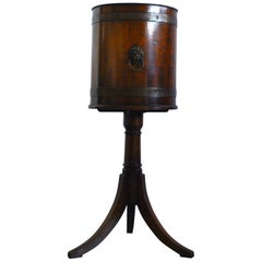 20th Century Mahogany Regency Style Wine Cooler