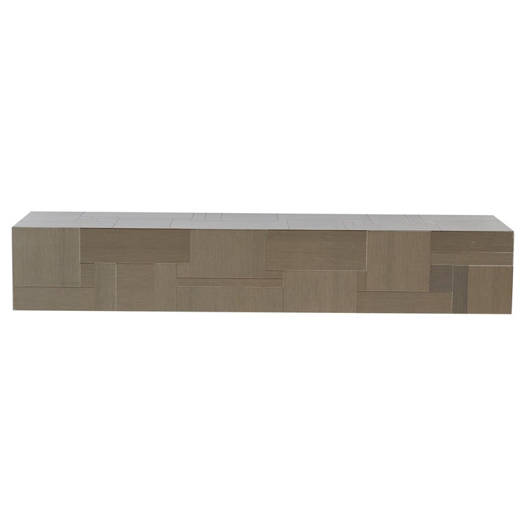 Paul Evans Wall Mounted Console Table Shelf