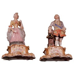Victorian Figurines, in the Old Paris Style