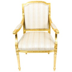 Bespoke Sets of Giltwood Armchairs in the Louis XV Style