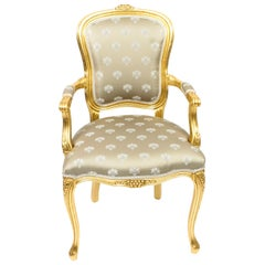 Bespoke Set of Giltwood Armchairs in the Louis XVI Style